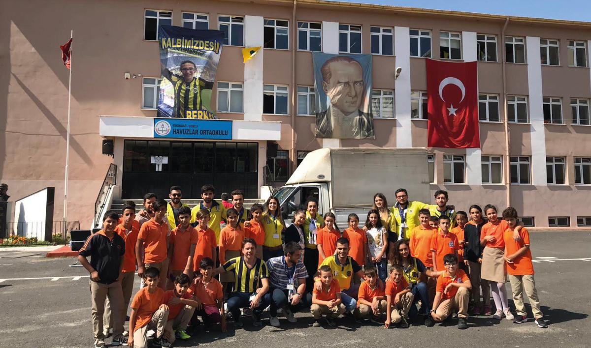 UNİFEB Kulübü, ''7 Bölge`de 7 Berkay AKBAŞ Kütüphanesi'' ile Berkay AKBAŞ`ı Anıyor.