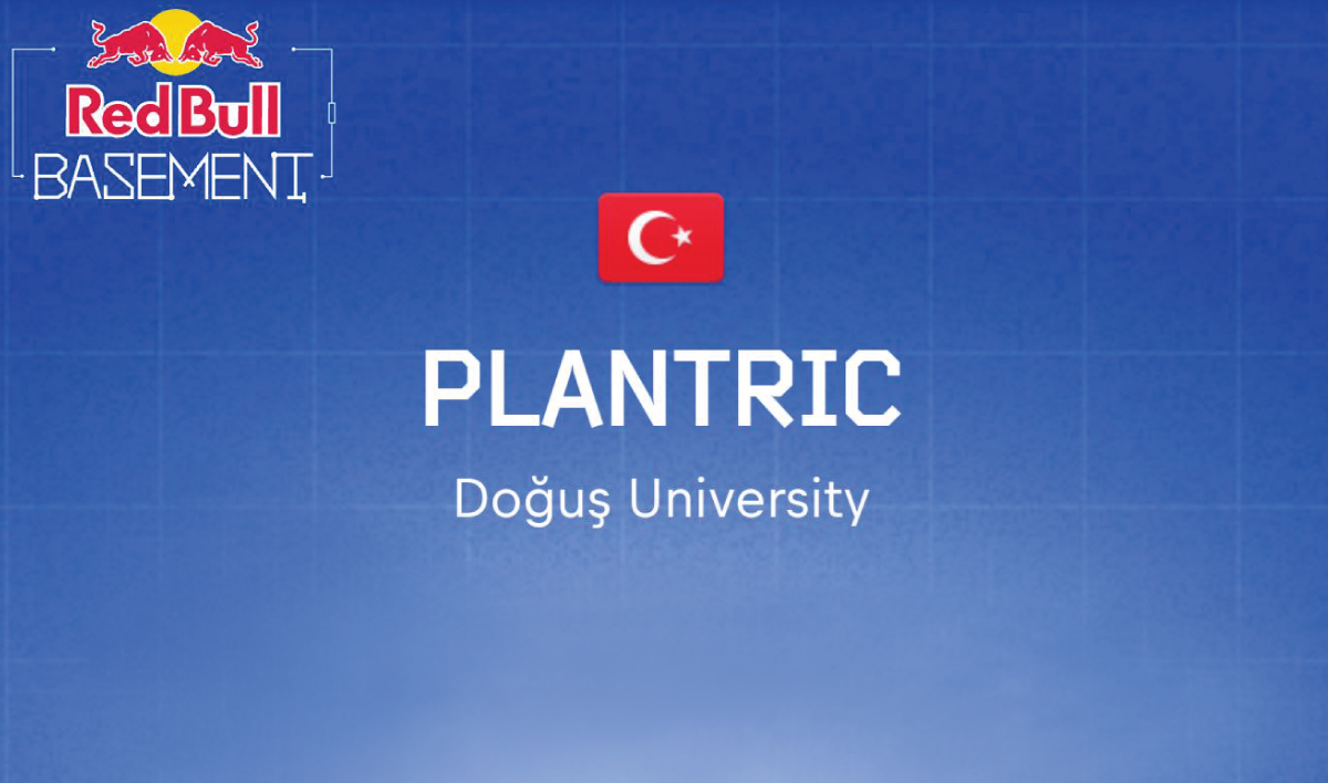 Doğuş University students are the winners  of Red Bull Basement, Turkey with Plantric Project