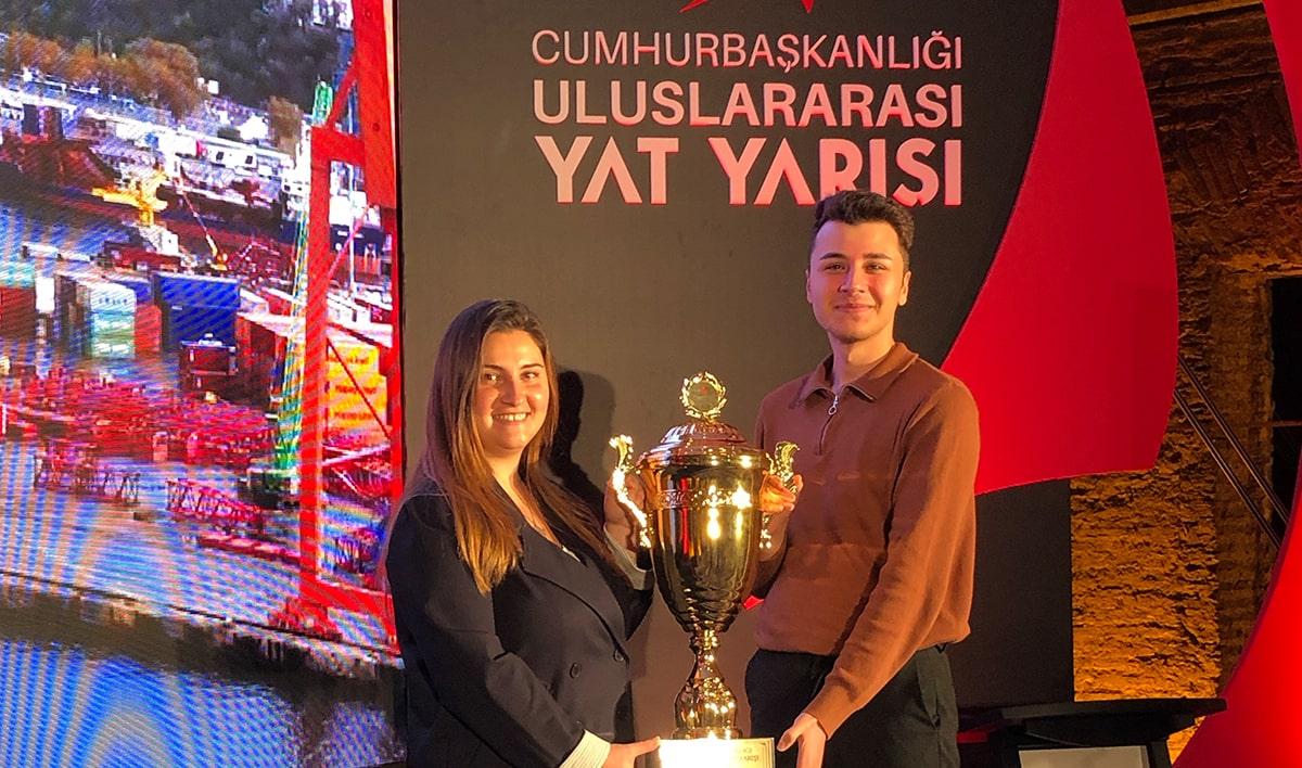 Cumhurbaşkanlığı Uluslararası Yat Yarışında Doğuş Üniversitesi Yelken Takımı Birçok Ödülün Sahibi Oldu.
