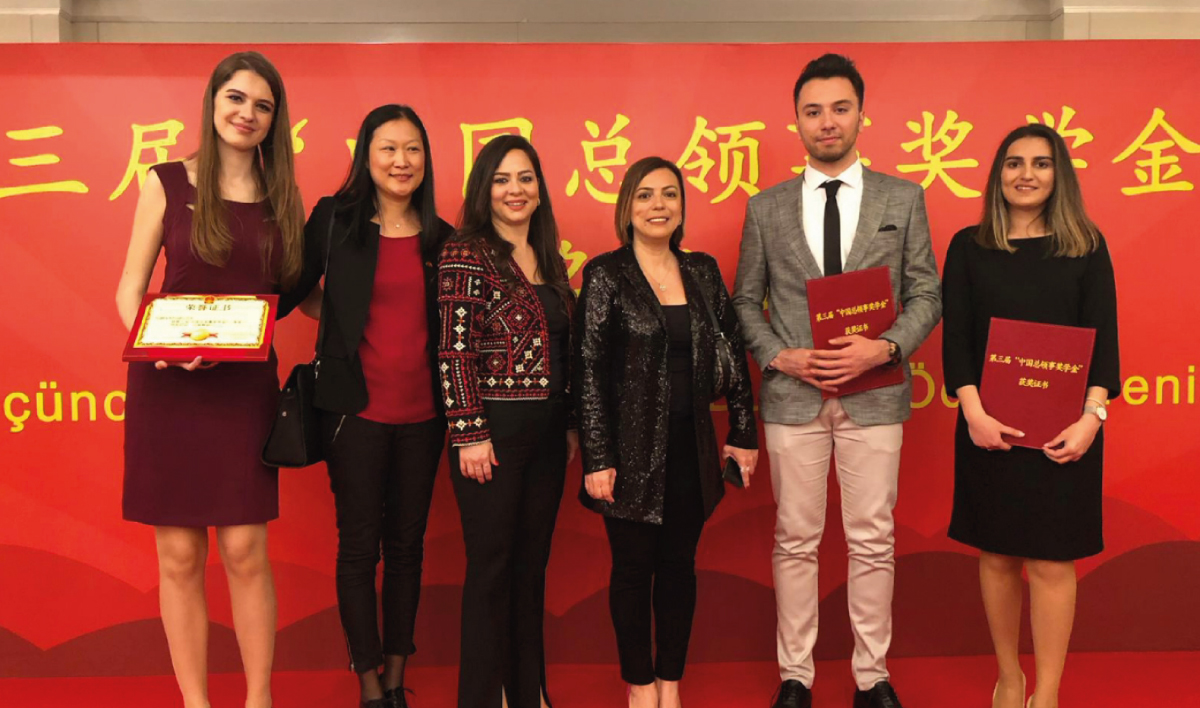 3. Çin Başkonsolos Bursu Öğrencilerimizin Oldu