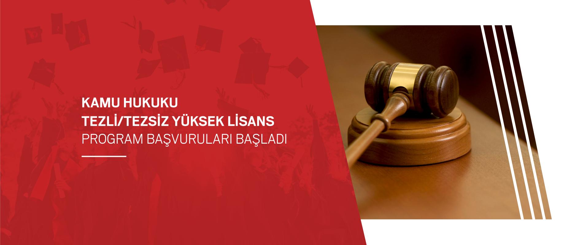 Yüksek Lisans Hukuk 2021